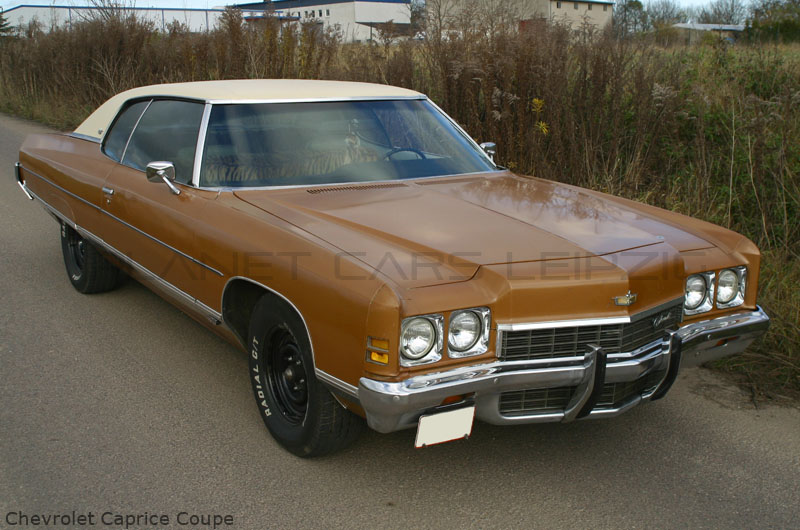 1972 Chevrolet Caprice Coupe