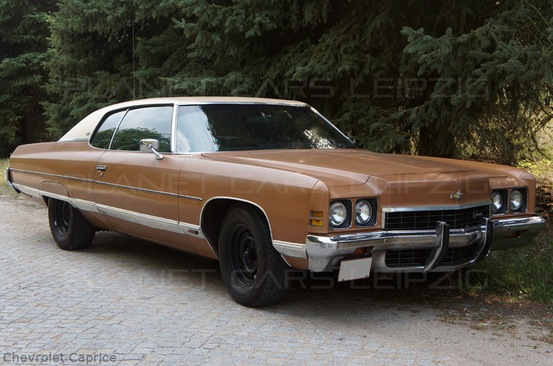 1972 Chevrolet Caprice Hardtop Coupe