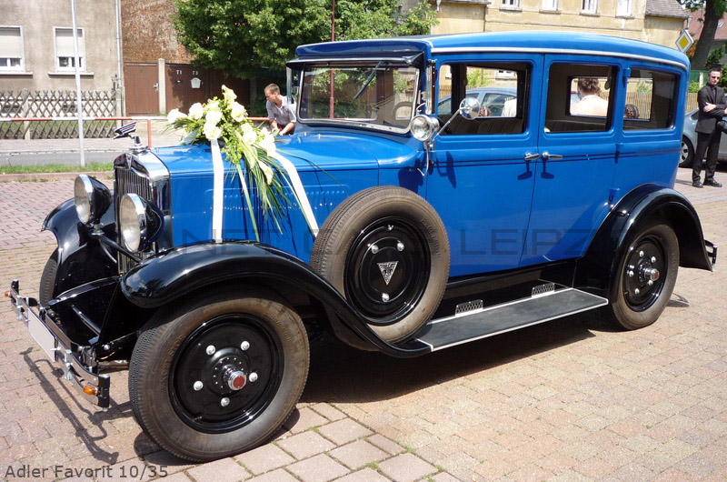 1930 Adler Favorit