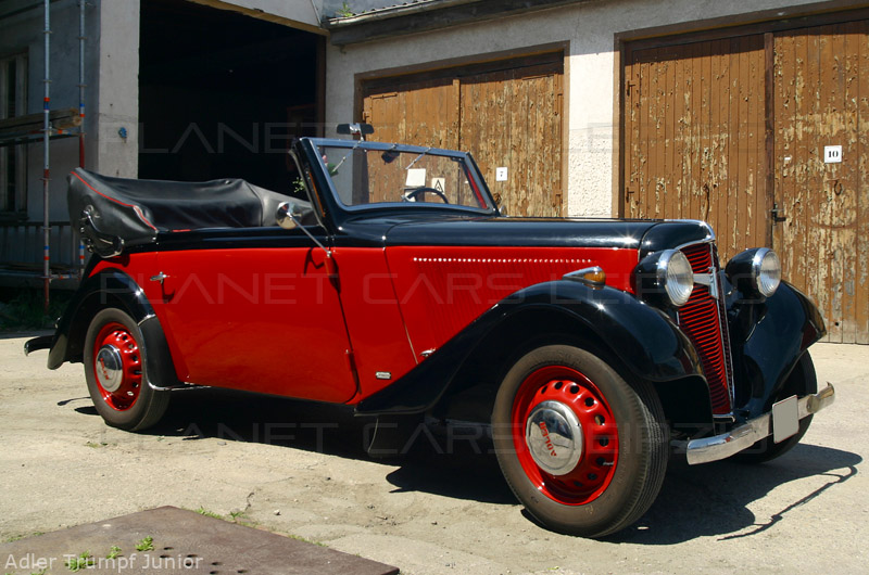 1936 Adler Trumpf Junior